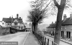 Droitwich Spa, The Holloway, St Peter's Walk c.1950