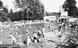 Droitwich Spa, The Lido c.1960