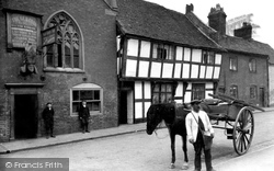 Droitwich Spa, The Old Cock Inn c.1910