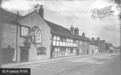 Droitwich Spa, The Old Cock Inn, Friar Street 1931