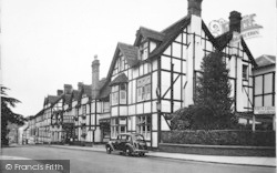 Droitwich Spa, The Raven Hotel c.1955
