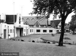 Droitwich Spa, Winter Gardens c.1955