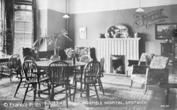 Droitwich Spa, Women's Sitting Room, Highfield Hospital c.1935