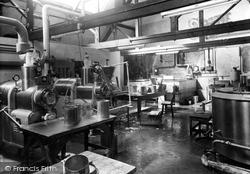 Droitwich Spa, Yorke Jones Ice Cream Factory c.1955