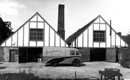 Droitwich Spa, Yorke Jones Ice Cream Factory c1955
