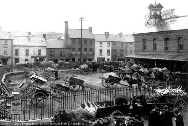 Photo of Dromore, Market Day 1904