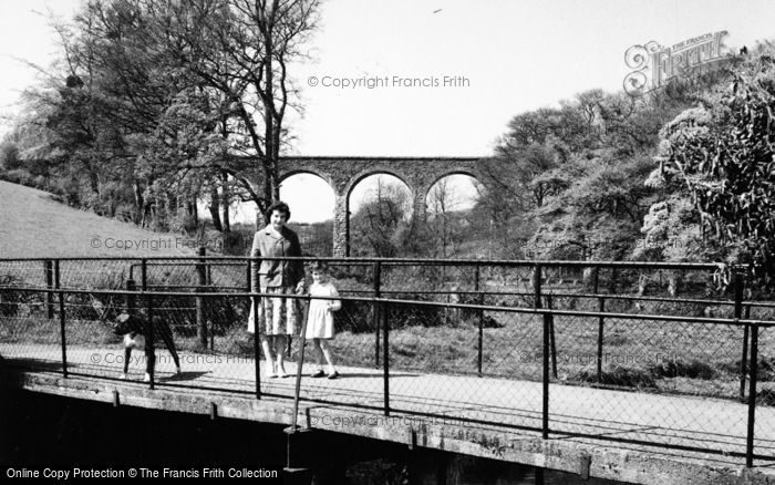 Photo of Dromore, Mill Walk Bridge And Viaduct c.1955