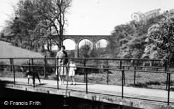 Mill Walk Bridge And Viaduct c.1955, Dromore