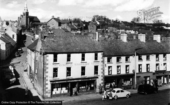 Photo of Dromore, The Square c.1955