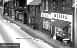 Dronfield, Businesses In Sheffield Road c.1965
