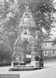 Dronfield, Corn Law Monument c.1955
