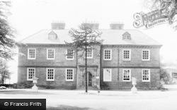 Dronfield, Council Offices And Library c.1965