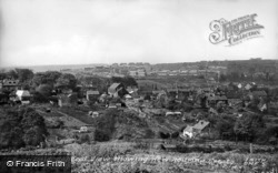 General View And New Housing Estate c.1965, Dronfield