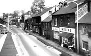 Dronfield, Sheffield Road c1965