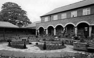 Dronfield, the Grammar School Remembrance Garden c1965