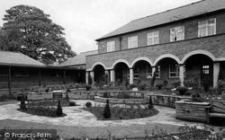 Dronfield, The Grammar School Remembrance Garden c.1965