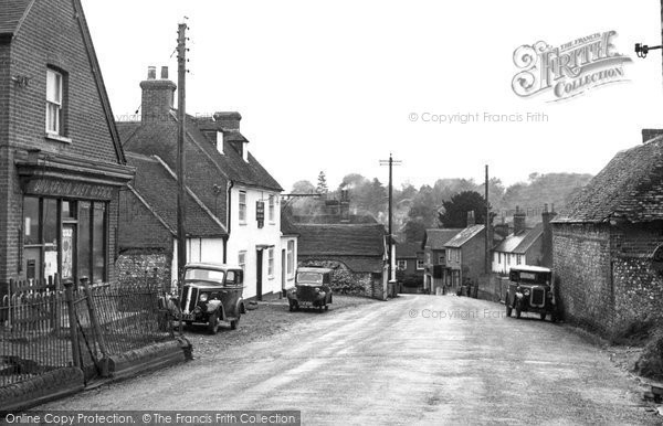 Photo of Droxford, High Street c1955