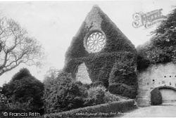 Dryburgh, Abbey, Oriel Window 1897