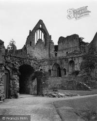 Dryburgh, The Abbey 1951