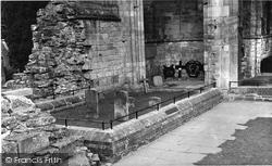 Dryburgh, The Abbey, Earl Haig's Tomb c.1955