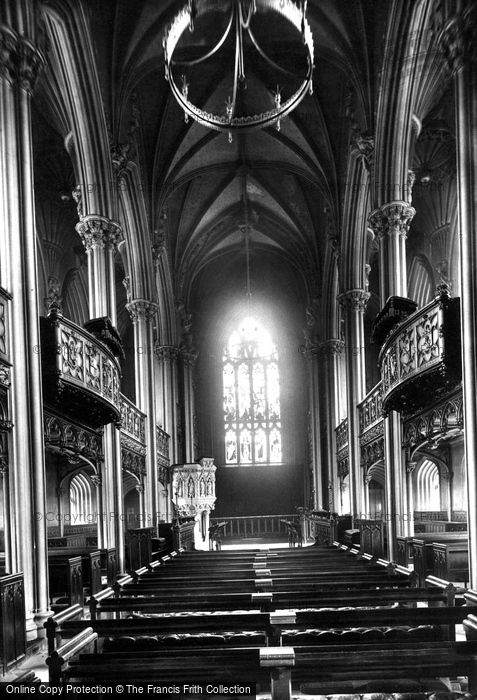 Photo of Dublin, Castle, Chapel Royal, Interior 1897