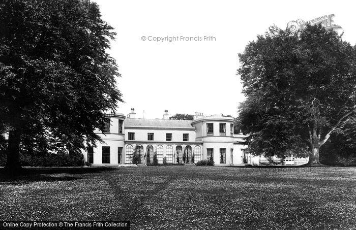 Photo of Dublin, Chief Secretary's Lodge, Phoenix Park 1897