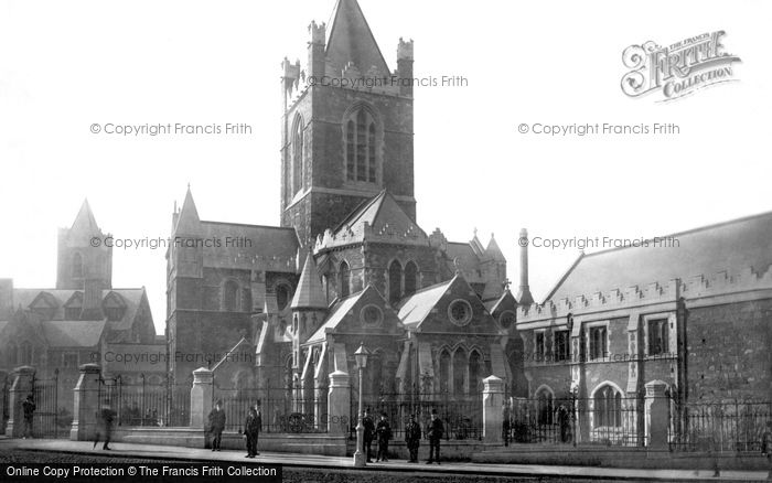 Photo of Dublin, Christchurch Cathedral 1890
