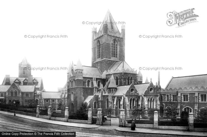 Photo of Dublin, Christchurch Cathedral 1897