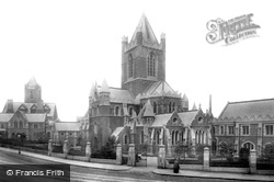Dublin, Christchurch Cathedral 1897