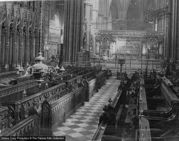 Photo of Dublin, Christchurch Cathedral, Choir Aisle c.1871