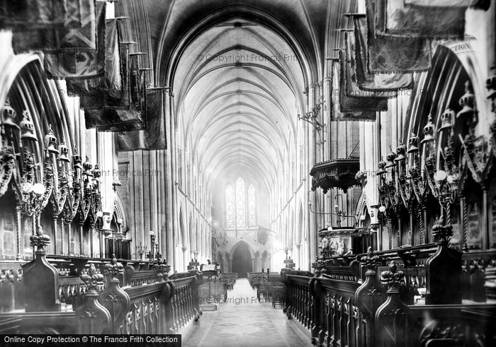 Photo of Dublin, Christchurch Cathedral Nave 1897