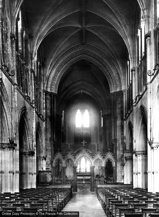 Photo of Dublin, Christchurch Cathedral, Nave 1897