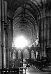 Dublin, Christchurch Cathedral, Nave 1897