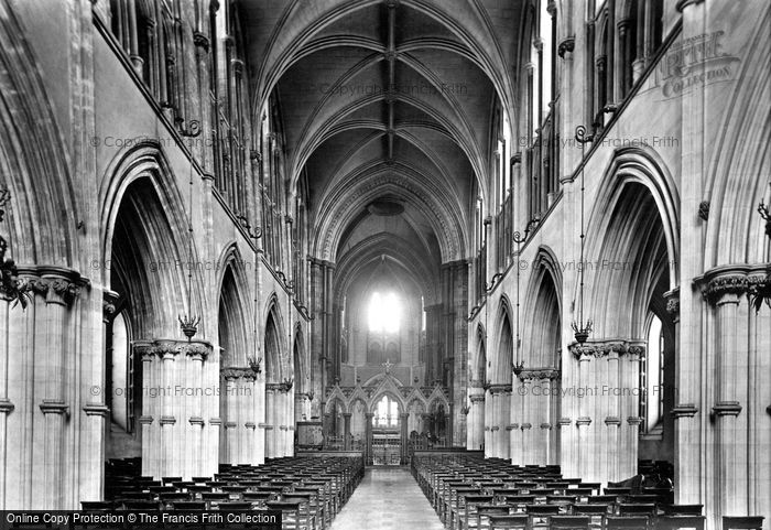 Photo of Dublin, Christchurch Cathedral, Nave East 1897