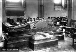 Dublin, Christchurch Cathedral, The Earl Of Pembroke's Tomb 1897