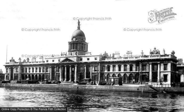 Photo of Dublin, Custom House 1897