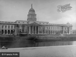 Dublin, Custom House 1957