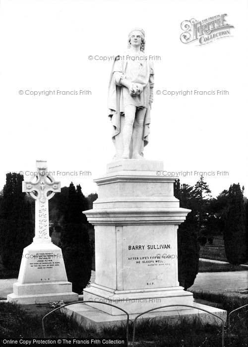 Photo of Dublin, Glasnevin Cemetery, Barry Sullivan's Grave 1897
