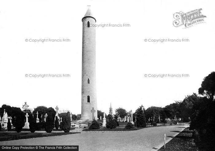 Photo of Dublin, Glasnevin Cemetery, O'connell Memorial 1897