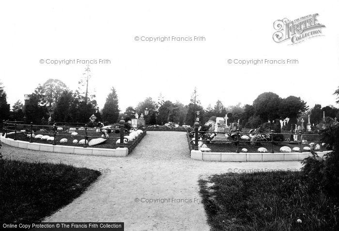 Photo of Dublin, Glasnevin Cemetery, Parnell's Grave 1897