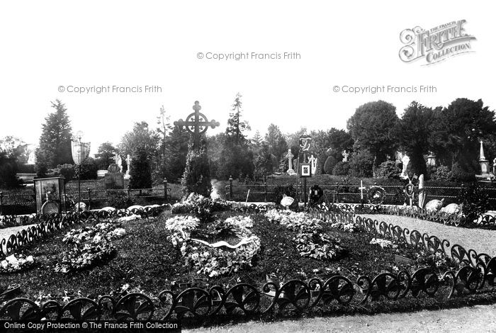 Photo of Dublin, Glasnevin Cemetery, Parnell's Grave 1897