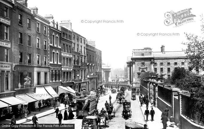Photo of Dublin, Grafton Street 1897