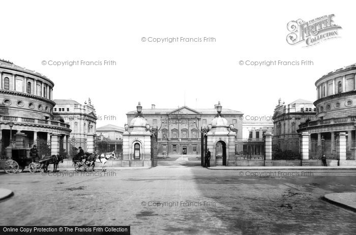 Photo of Dublin, Leinster House 1897