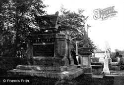 Dublin, Ruthven's And Curran's Tomb, Glasnevin Cemetery 1897