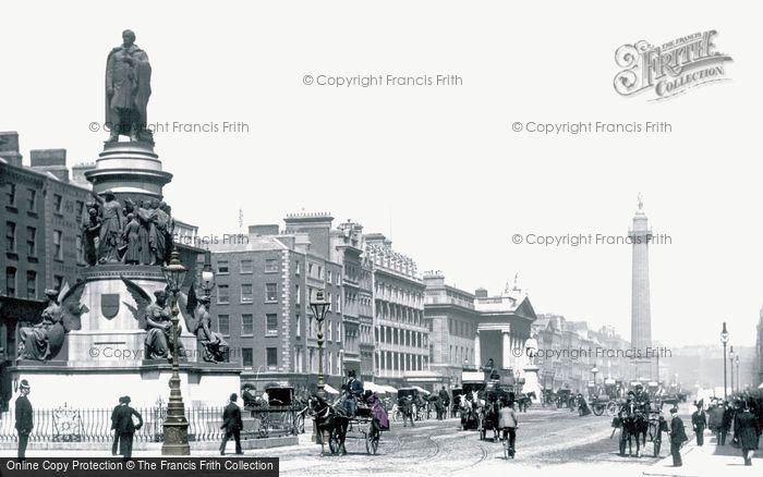 Photo of Dublin, Sackville Street 1897