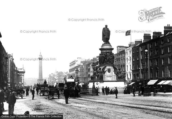 Photo of Dublin, Sackville Street 1897