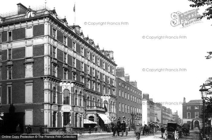 Photo of Dublin, Shelbourne Hotel 1897