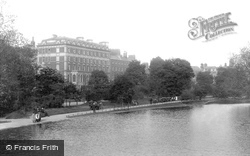 Dublin, Shelbourne Hotel From The Lake 1897