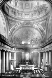 St Mary's Pro-Cathedral, The Interior 1897, Dublin