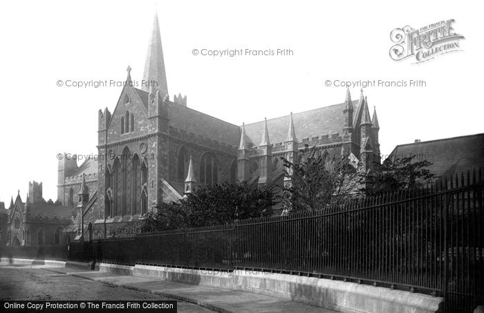 Photo of Dublin, St Patrick's Cathedral 1890